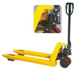Hand pallet truck from IDEA STAR PACKING MATERIALS TRADING LLC.