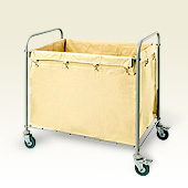 LAUNDRY TROLLEY FOR HOTELS FOR CAMPS 042222641 from ABILITY TRADING LLC