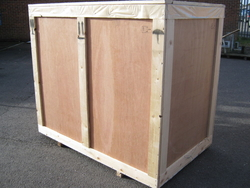 Wooden packing crates from IDEA STAR PACKING MATERIALS TRADING LLC.