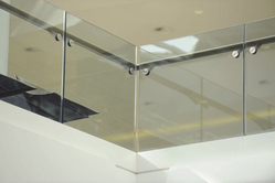 STRUCTURAL GLASS RAILING from RUBY STEEL