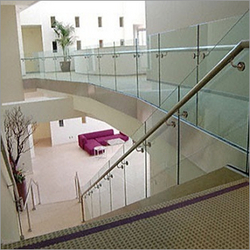 Staircase Railing from RUBY STEEL