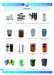TRASH BIN SUPPLIERS IN DUBAI UAE from GOLDEN DOLPHINS SUPPLIES
