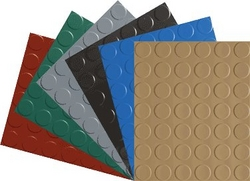PVC AND RUBBER COIN FLOORING from ADILA INTERNATIONAL FZE