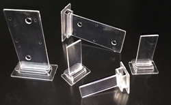 PP Corrugated Shelf Support Clips from AL BARSHAA PLASTIC PRODUCT COMPANY LLC