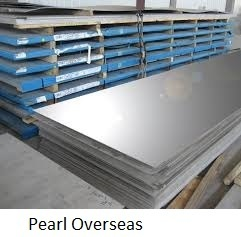 SS Plate from PEARL OVERSEAS