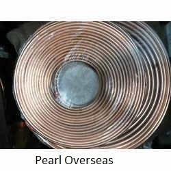 Copper Pan Cake Coil