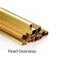 Brass Square Tube from PEARL OVERSEAS