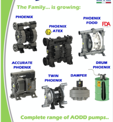 Air Operated Double Diaphragm Pumps from SELTEC FZC - +971 50 4685343 / WWW.SELTECUAE.COM