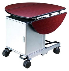 ROOM SERVICE TROLLEY WITH HOT BOX 042222641  from ABILITY TRADING LLC