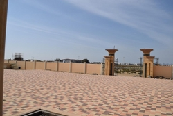 Tegula Pavers(24/16/12-16x8cm)Shot Blast(F)in UAE