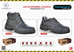 Feetguard Safety Shoes Supplier in UAE from DUCON BUILDING MATERIALS LLC