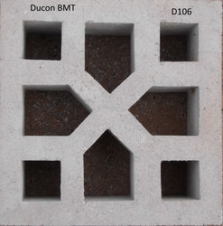Screen Blocks or Claustra Blocks in Al Ain from DUCON BUILDING MATERIALS LLC