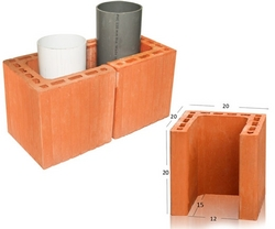 Pipe Protector Brick from DUCON BUILDING MATERIALS LLC