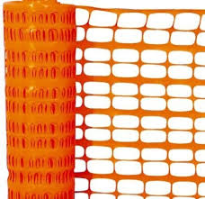 Orange Safety Barrier / Mesh from CLEAR WAY BUILDING MATERIALS TRADING