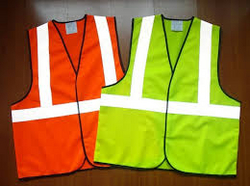 safety Jacket Fabric Orange & Yellow from CLEAR WAY BUILDING MATERIALS TRADING