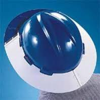 sun shed protection for safety helmet 042222641 fabric type from ABILITY TRADING LLC