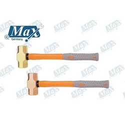 Non Sparking Sledge Hammer Copper / Brass 12 LB from A ONE TOOLS TRADING LLC