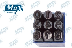 Number Punch Set (0-9) 19 mm from A ONE TOOLS TRADING LLC