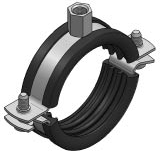 Pipe clamp Trabant, lined from AL MARAJ BUILDING MATERIALS LLC