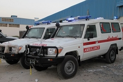 Ambulance for sale in Ajman from AUTO ZONE ARMOR & PROCESSING CARS LLC