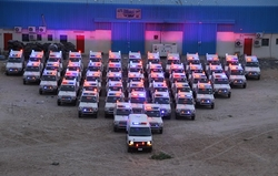Land cruiser ambulance suppliers UAE from AUTO ZONE ARMOR & PROCESSING CARS LLC