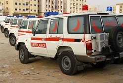 Ambulance manufacturers in Dubai from AUTO ZONE ARMOR & PROCESSING CARS LLC