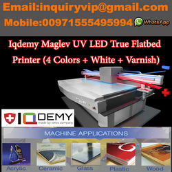 Uv Led 2mx3m Digital Ture Flatbed Printer