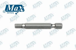 Hexagonal Power Drill Bit 6 mm x 50 mm from A ONE TOOLS TRADING LLC
