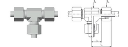EQUAL TEE FITTINGS - T from M.P. JAIN TUBING SOLUTIONS LLP