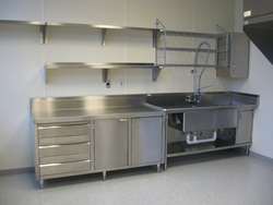 Stainless steel Shelves from EURO STEEL AND ALUMINIUM LLC