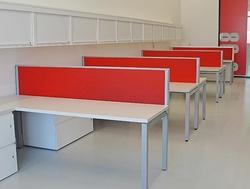Modern work station from EURO STEEL AND ALUMINIUM LLC