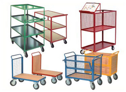 Metal trolley from EURO STEEL AND ALUMINIUM LLC