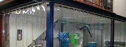 PVC Strip Curtains UAE from SAHARA DOORS & METALS LLC