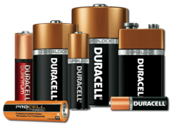DURACELL Alkaline Battery AA AAA Csize Dsize from CLASSIC POWER BATTERIES TRADING LLC