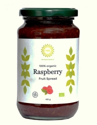 Organic Raspberry fruit spread from THE ORGANIC SYNDICATE