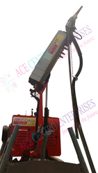 HYDRAULIC GUNITE SPRAYING ARM