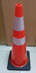 BLACK/ORANGE PVC CONE UAE from EXCEL TRADING COMPANY - L L C