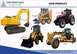 HEAVY EQUIPMENTS from SUPER PERKINS FACILITIES MANAGEMENT & SERVICES L