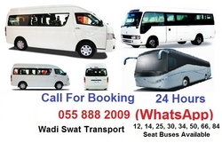 TRANSPORT COMPANIES from WADI SWAT PASSENGERS BUSES TRANSPORT