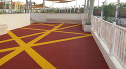 Rubber Flooring from CABINS AND SHADES MANUFACTURER
