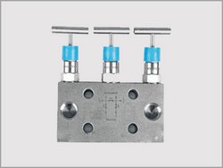 Three Valve Manifold Bar Type Direct Mount from KALPATARU PIPING SOLUTIONS