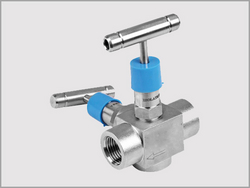 Two Valve (three-way) Manifold for Pressure  from KALPATARU PIPING SOLUTIONS