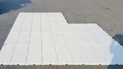 Temporary turf protection flooring