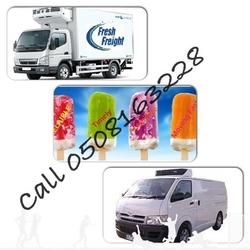 Refrigerated Truck,Chiller van,Freezer pallet pickup,Reefer Trailer,Catering transport rental UAE