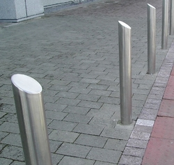 Bollards from NITHI GROUP (AIN KHAT METAL COATING PRODUCTS)