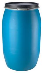 Plastic Drum 55 Gallon Closed Open Top