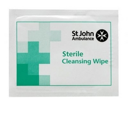 Sterile cleansing wipes - 10 pack from ARASCA MEDICAL EQUIPMENT TRADING LLC