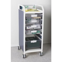 Executive Trolley with Trays from ARASCA MEDICAL EQUIPMENT TRADING LLC