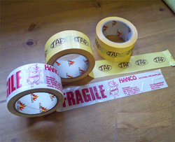 Custom Printed Tape Supplier in uae from AIPL TAPES INDUSTRY LLC