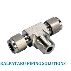 Ferrule Tube Fittings from KALPATARU PIPING SOLUTIONS